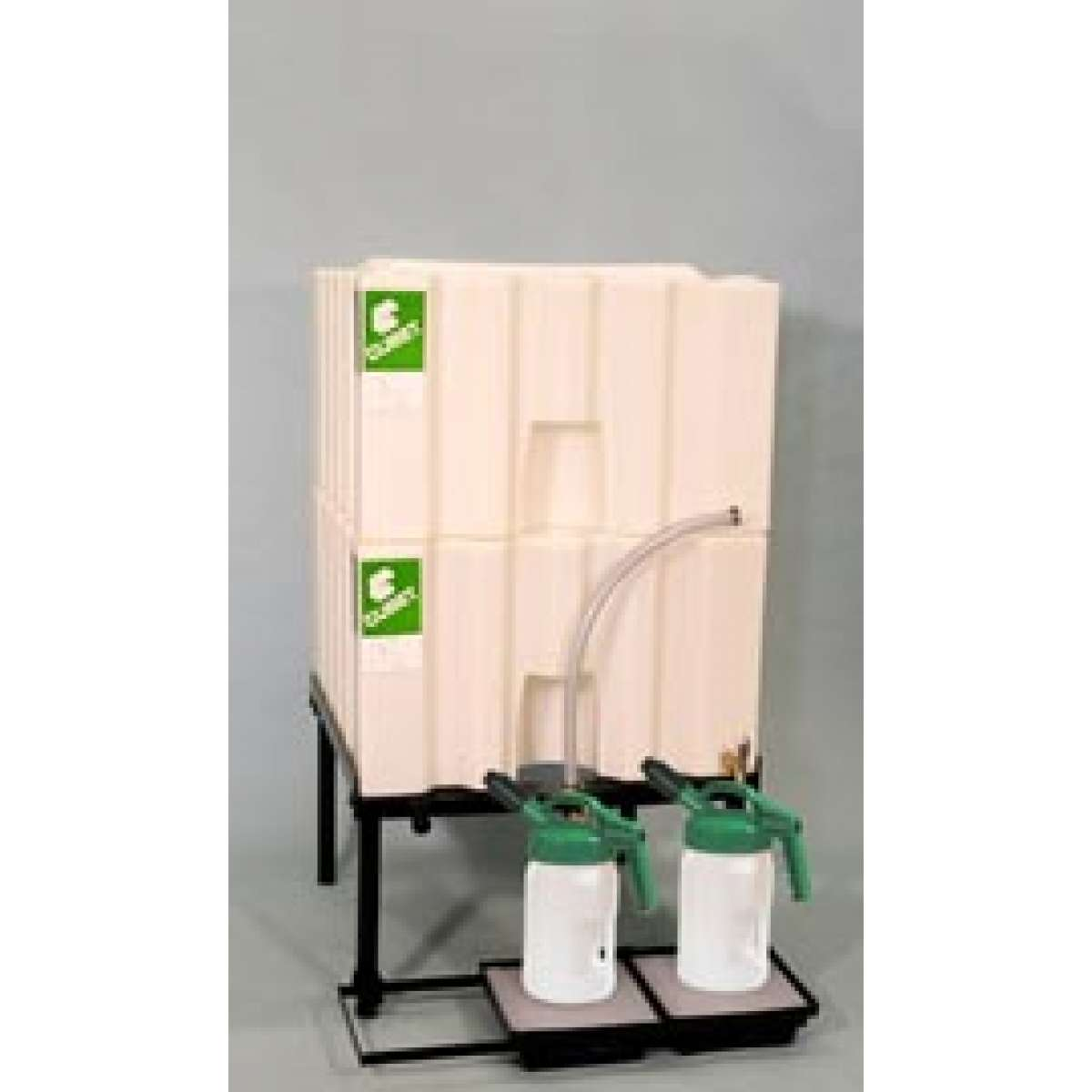 2 X 70 Gallon (265 L) Poly Container System