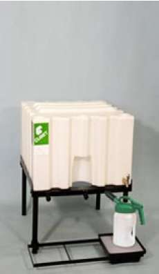 1 X 70 Gallon (265 L) Poly Container System