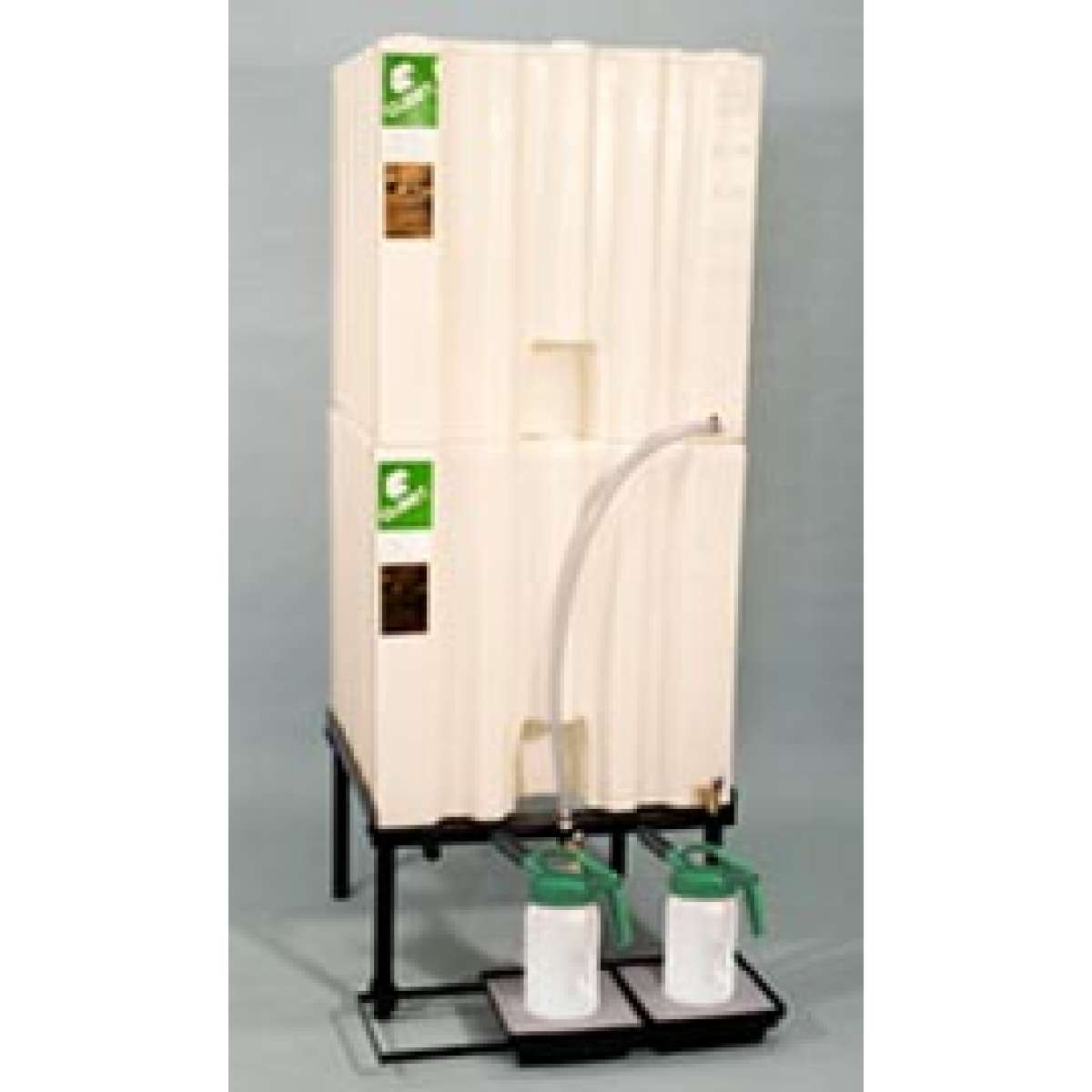2 X 120 Gallon (460 L) Poly Container System