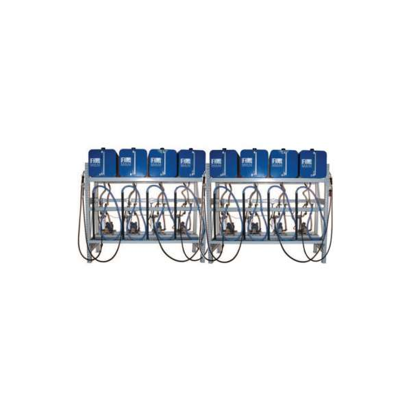 8 container system (1X8) with