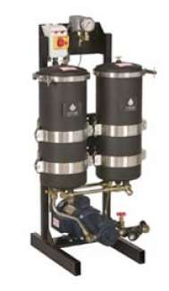 2 x 1000 - Standalone Depth-Filtration System - 575 Volt Powder Coated (High Viscosity)
