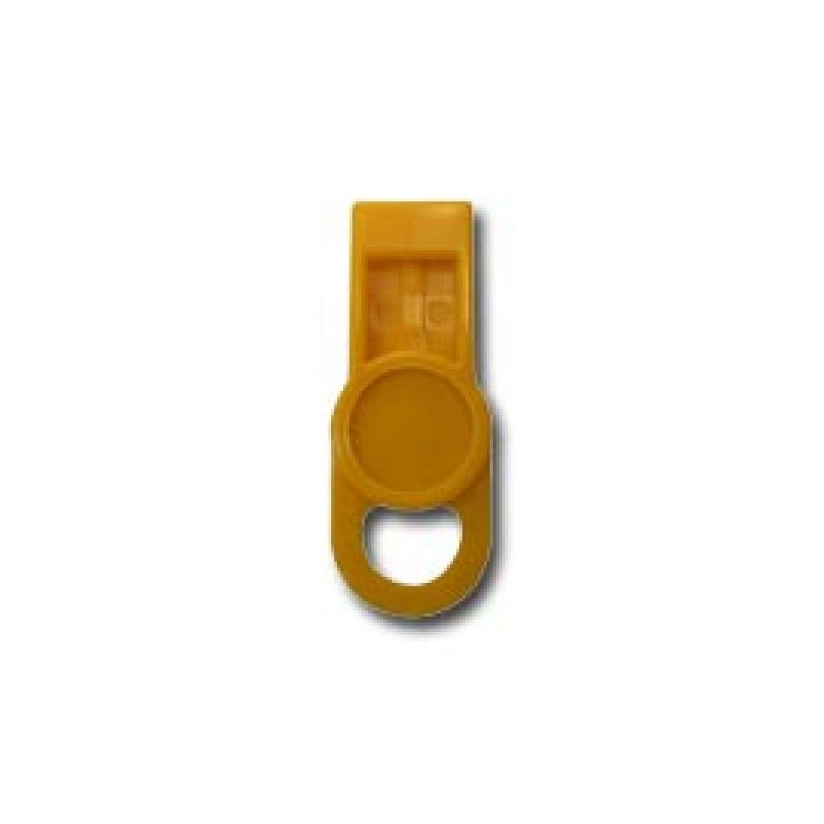 ID Washer Tab - LABEL SAFE - Yellow
