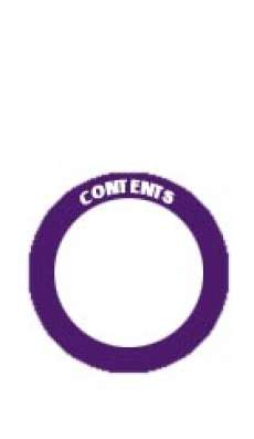 "Content Label - Adhesive  - 2"" Circle - Purple"