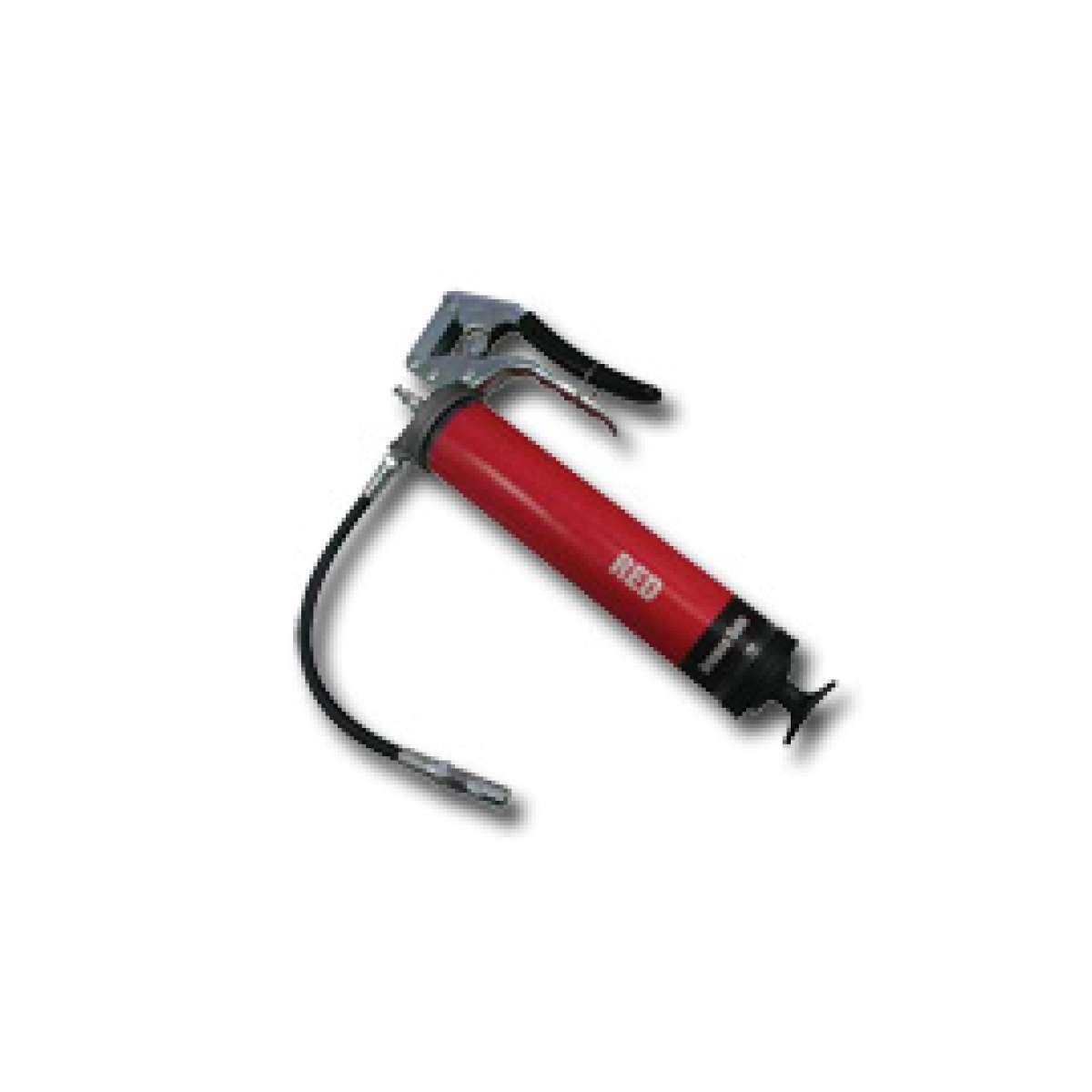 Heavy Duty Pistol Grip Grease Gun - Red