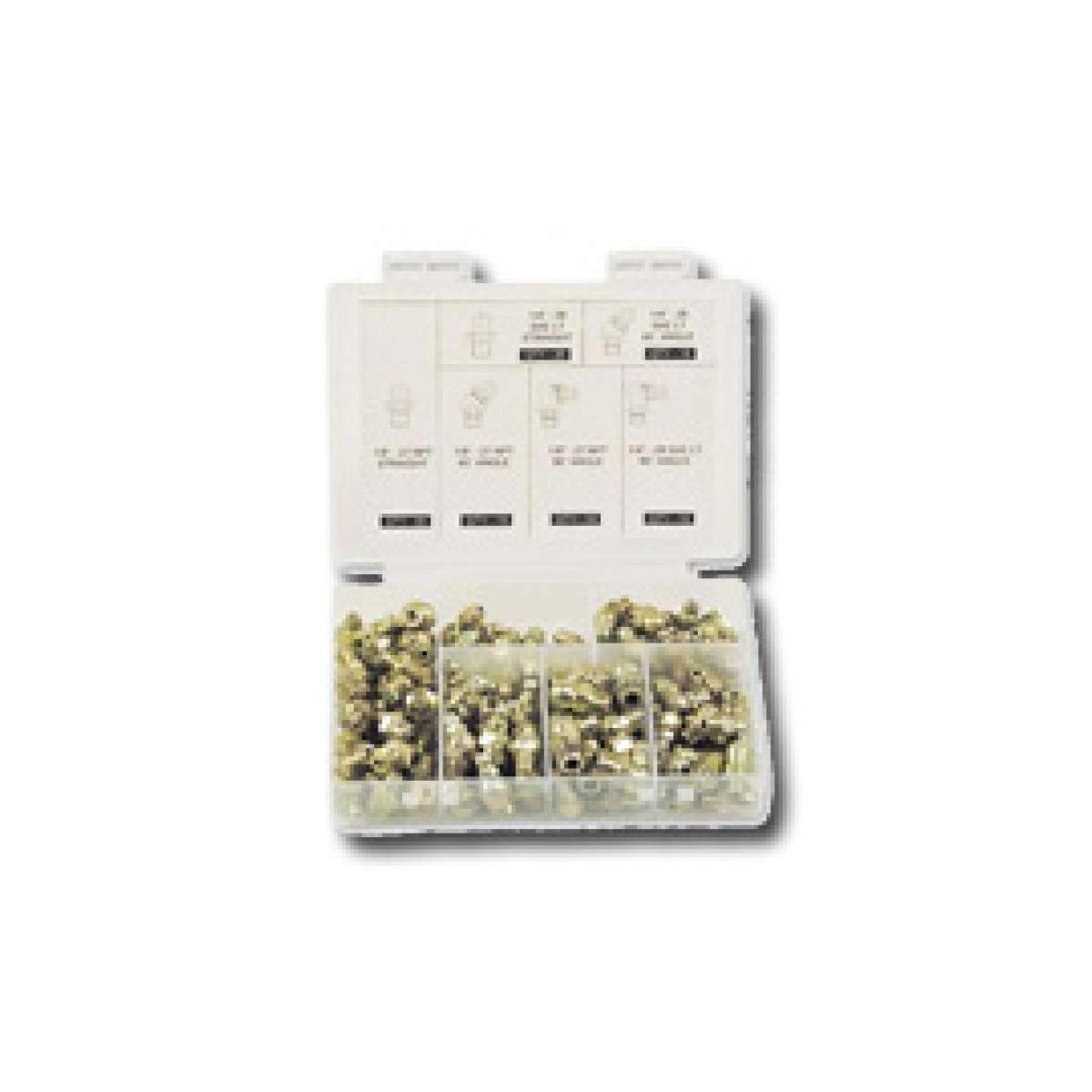 Grease Fitting Kit - SAE Assorted - 80pc
