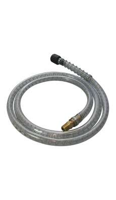 "Pump Hose - 5 ft - with 1/4"" NPT Male Fitting"