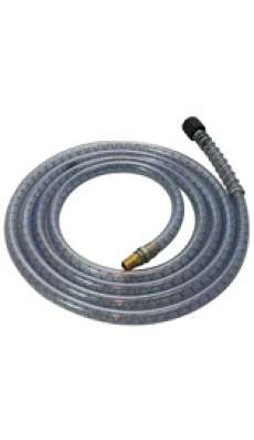 "Pump Hose - 10 ft - with 1/4"" NPT Male Fitting"