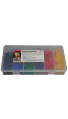 """Grease Fitting Protector Kit - 1/4"""" (6.4mm) 6 Color - 60pc"""