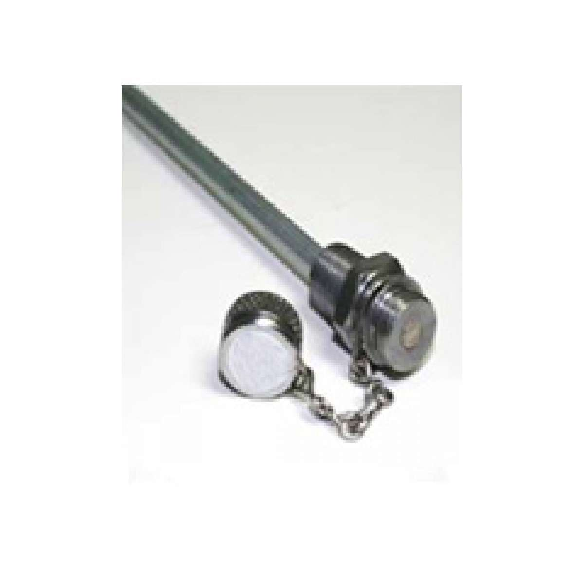 "18"" Stainless Steel, high flow, 1/4"" NPT, rigid"