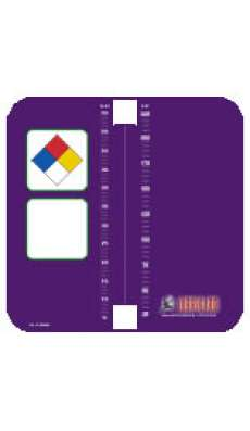 IFH Tank Label (Adhesive) - Purple