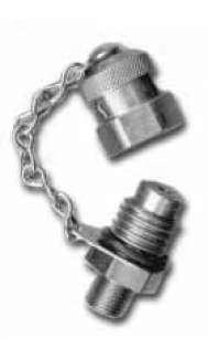 """Gauge Plug - 1/8"""" NPT (Stainless Steel)"""