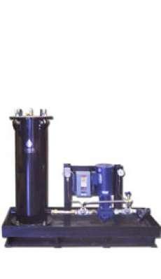 1 X 1200 - 4 HP Air Motor - Powder Coated