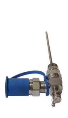 """AD Kit Drain 3/4"""" NPTF Port Adapter, 12"""" SS Sampling"""