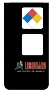 Mini Tank Label (Adhesive) - Black