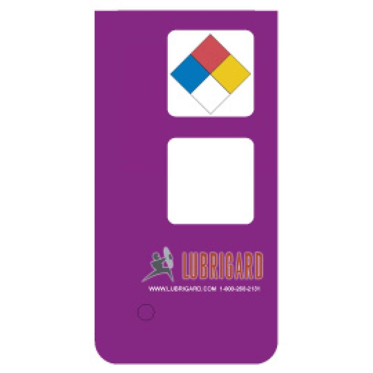 Mini Tank Label (Adhesive) - Purple