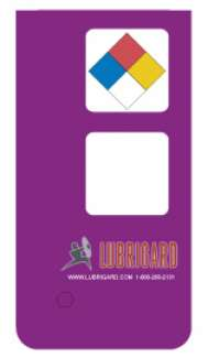 Mini Tank Label (Adhesive) - Purple