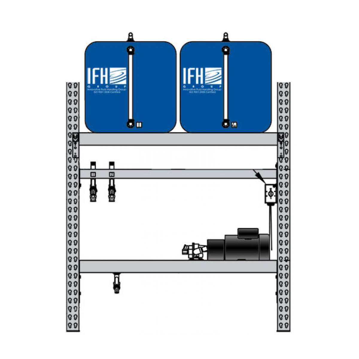 2 container system (1x2)