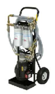 8 GPM Air Motor Filtration Cart