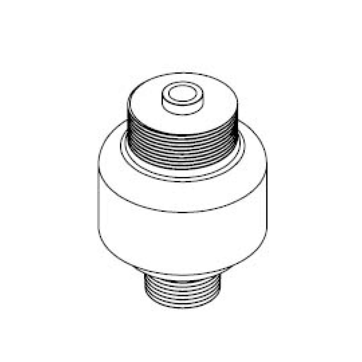 Flapper Valve Adapter for Extreme Duty Breather DC-XD-6