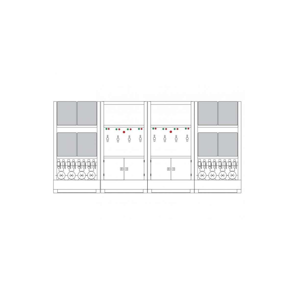 Lubrication Work Center - 8 x 65 Gallon