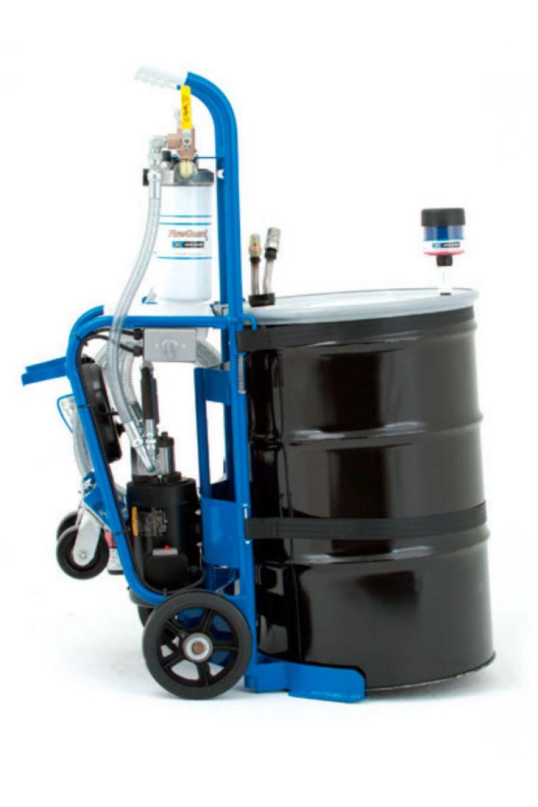 Des Case 2 Gpm Dual Stage Drum Handling Filtration Cart
