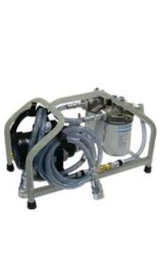 Des-Case Custom Drum Topper - Brushed Aluminum
