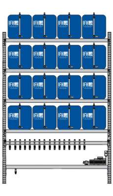 16 container system (4X4)