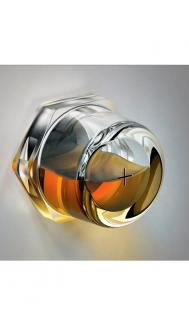 "3D Sight Glass 1/2"" NPT"