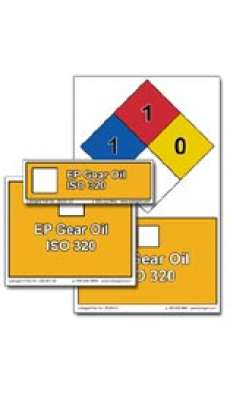 Fluid Identification Sticker Pack