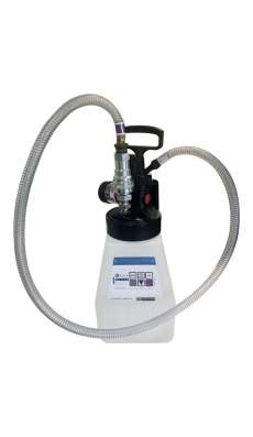 IsoLink Pump and Drum kit with Dispensing Nozzle - 5 foot Hose - Gray