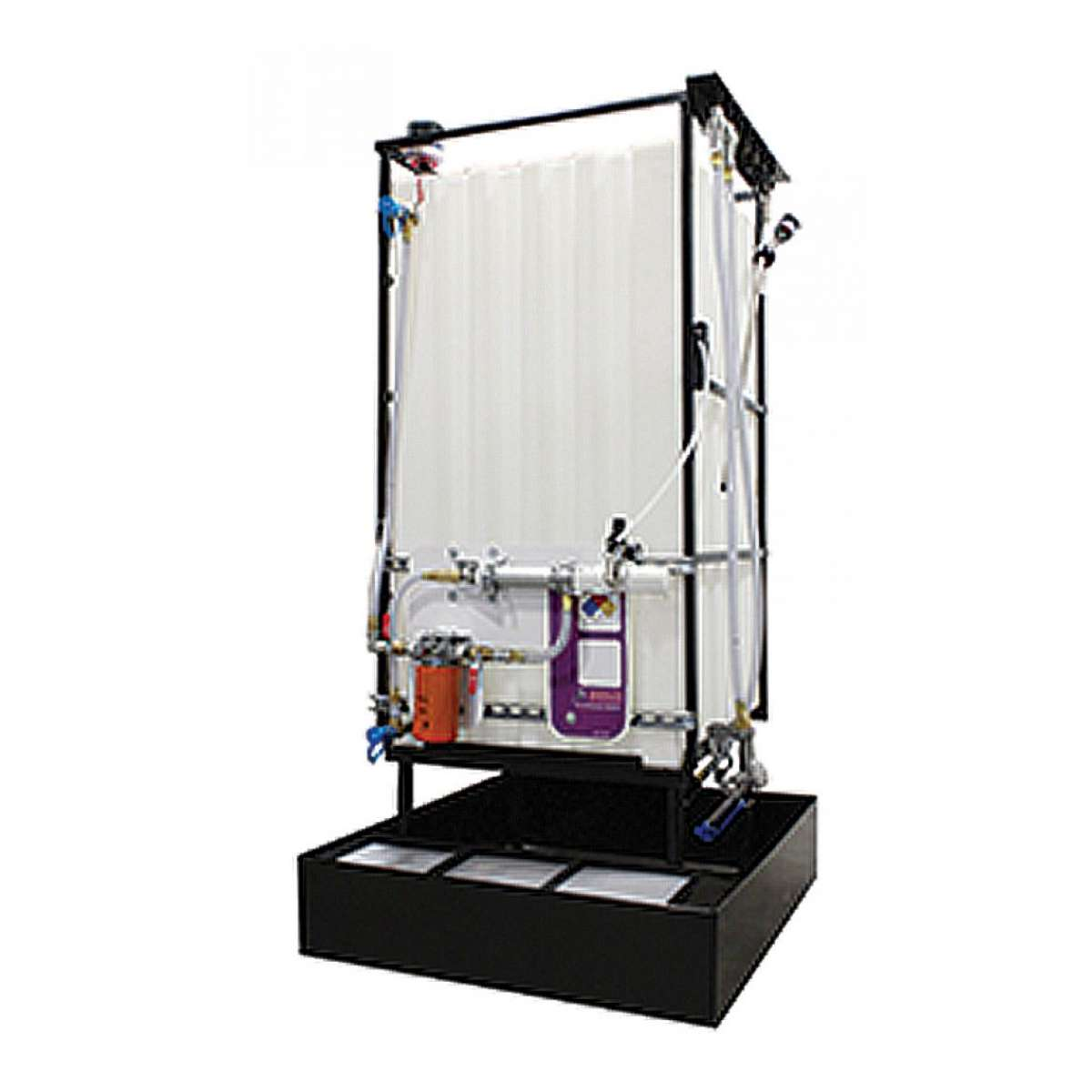 1 X 330 Gallon (1250 L) Poly Container System Oil Bar