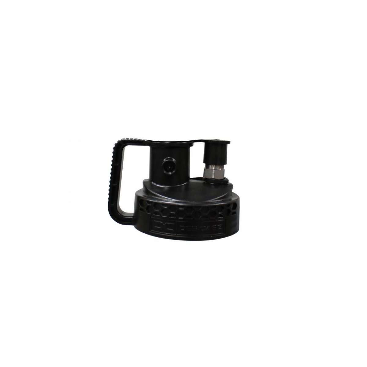 """IsoLink Pump Lid with 3/4"""" ISO B Plug & Vent Plug (no breather)"""
