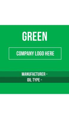 Content Label 8x8 - Mid Green