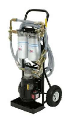 10 GPM 115 vac Dual Stage Filtration Cart