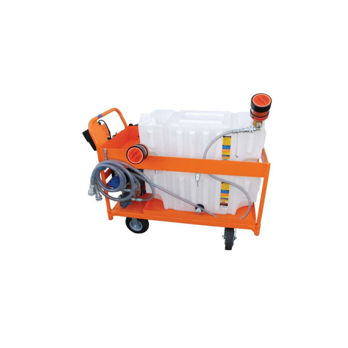 Platform Cart, Air Operated, 2GPM SPCL