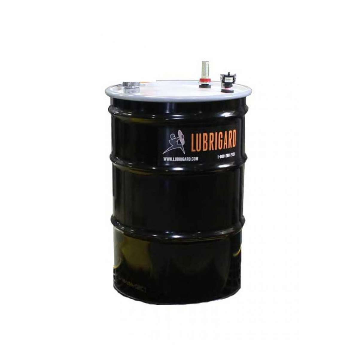 55 Gallon Steel Drum & Lid Assembly