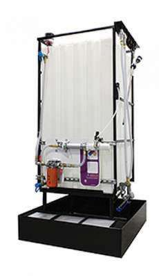 1 X 220 Gallon (870 L) Poly Container System with upgraded dispensing handle for ISOLink