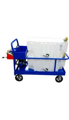 Platform Cart Dual 32 Gallon SPCL