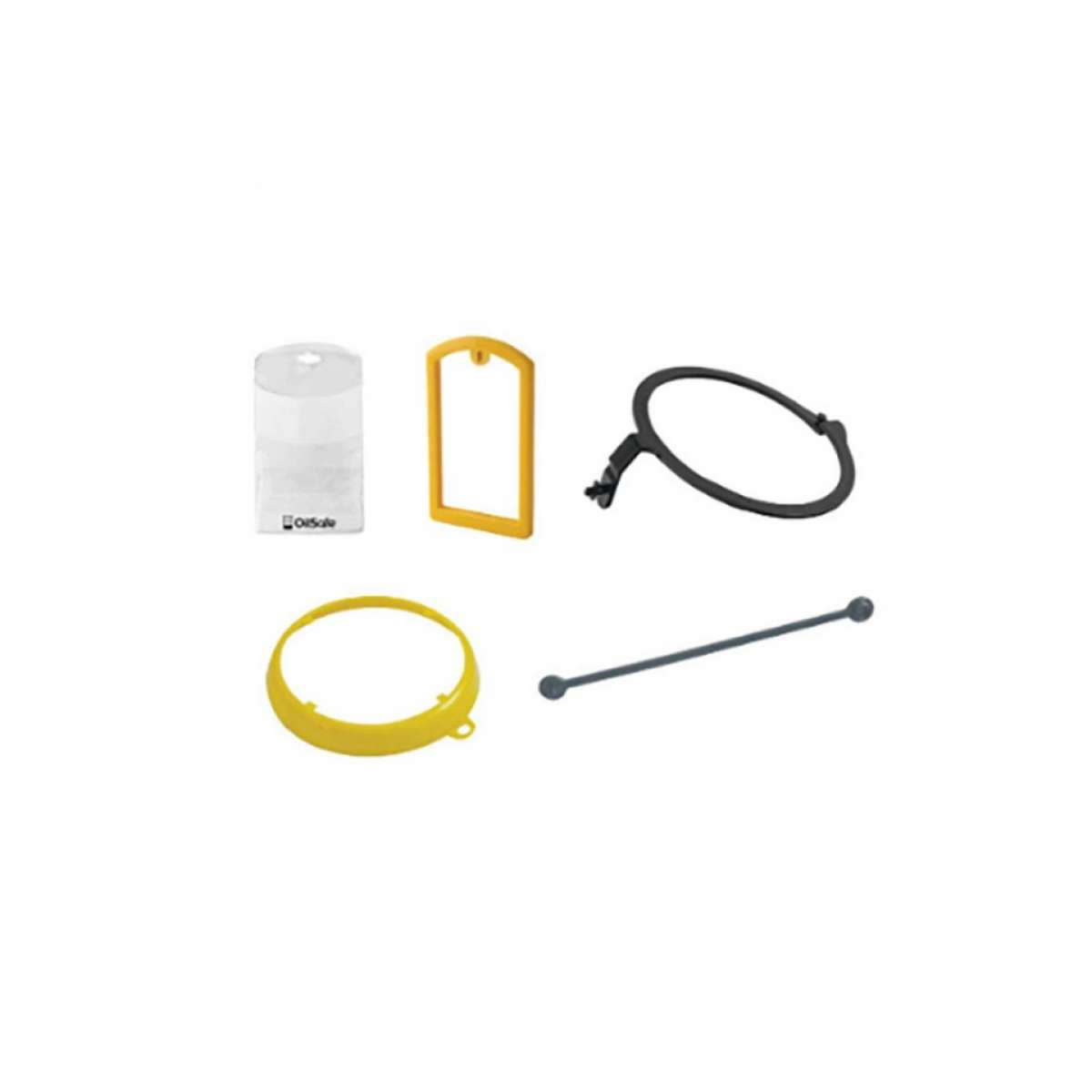 Drum Label Kit (Yellow)