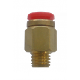 Easylube Fitting 8mm PU x 8mm (M) STRAIGHT