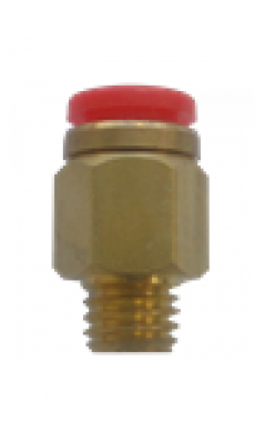 "Easylube Fitting 8mm PU x 1/8"" (M) STRAIGHT"