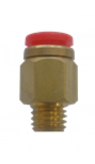"Easylube Fitting 8mm PU x 1/4"" (M) STRAIGHT"