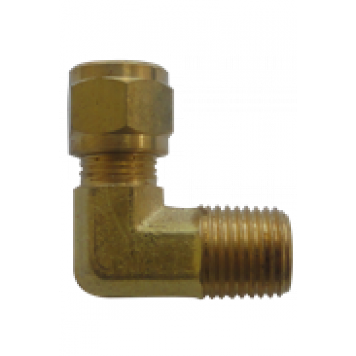"Easylube Fitting 8mm PU x 1/4"" (M) 90 DEG ANGLE CONNECTOR"