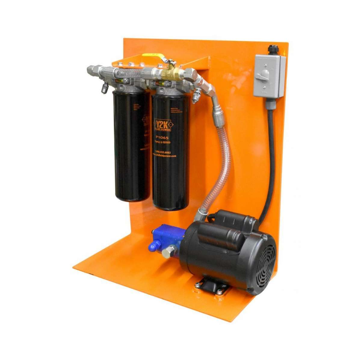 Panel Unit, 5GPM, 1HP Push Buttom SMPL
