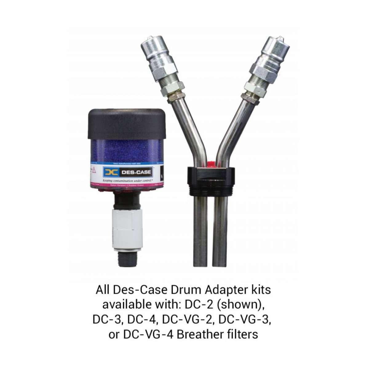 Custom Drum Adapter - Black