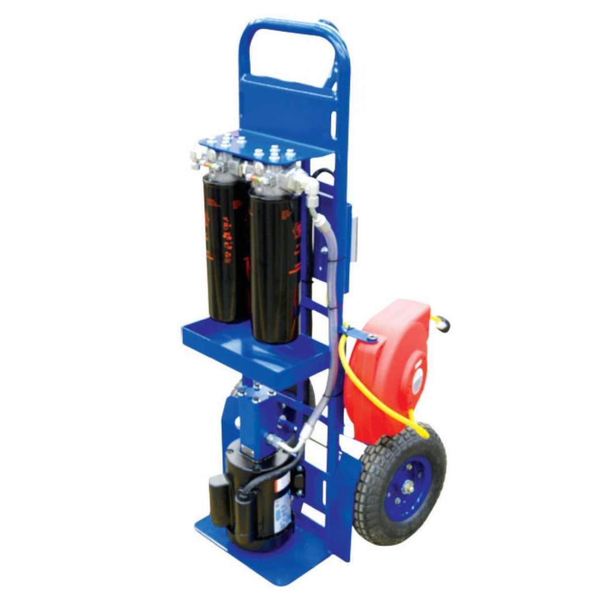 """Hand Truck F/C 5GPM, 1"""" Hoses 1HP"""