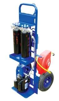 "Hand Truck F/C 5GPM, 1"" Hoses 1HP"