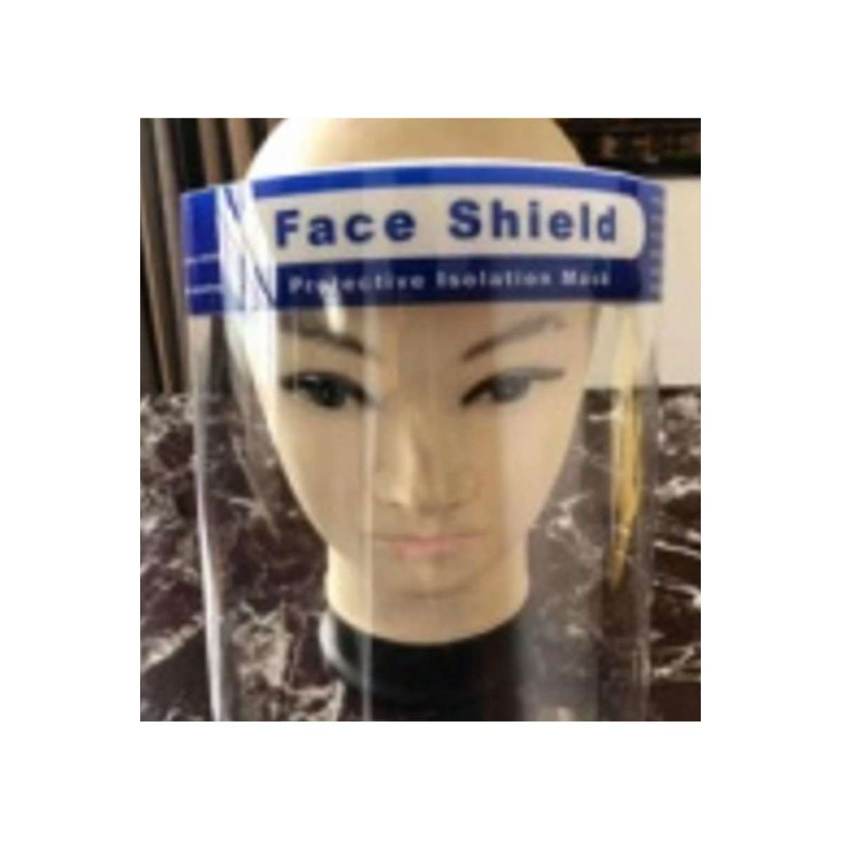 Face Shield, Antifog CE approved - Case of 200