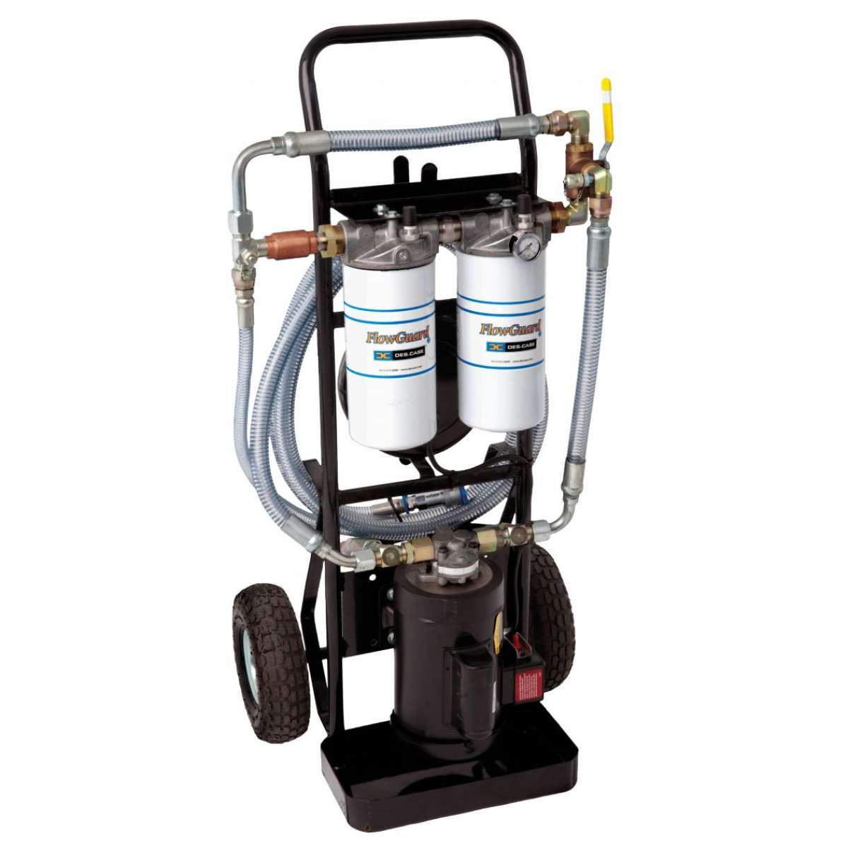 FlowGuard Filter Cart 2 gpm pump / 1 hp electric motor, 115 vac, 60 hz, 1725 rpms, 13 amps