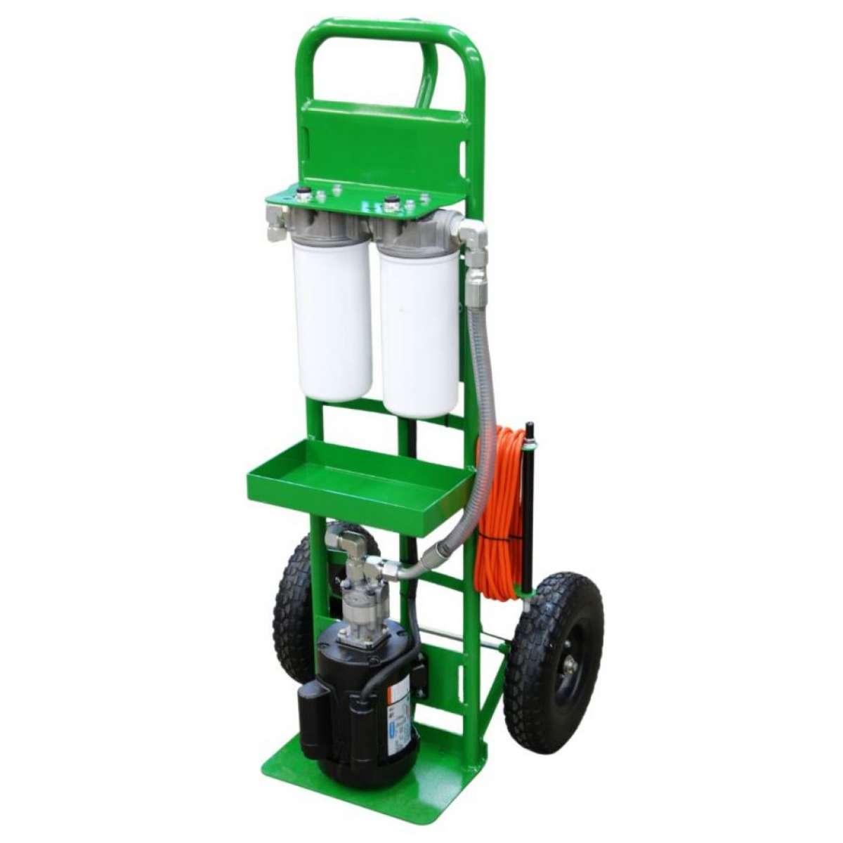2 Wheeled Hand Truck Filter Cart 1HP 5GPM SPCL